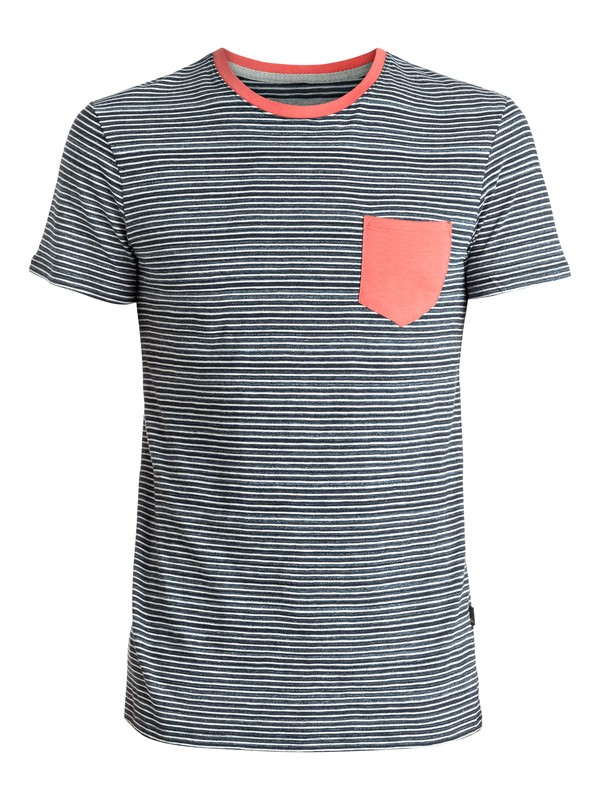 0 Cape May Lefts - Tee-Shirt à poche Bleu EQYKT03513 Quiksilver