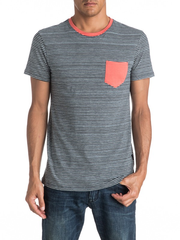 0 Cape May Lefts - Tee-Shirt à poche  EQYKT03513 Quiksilver