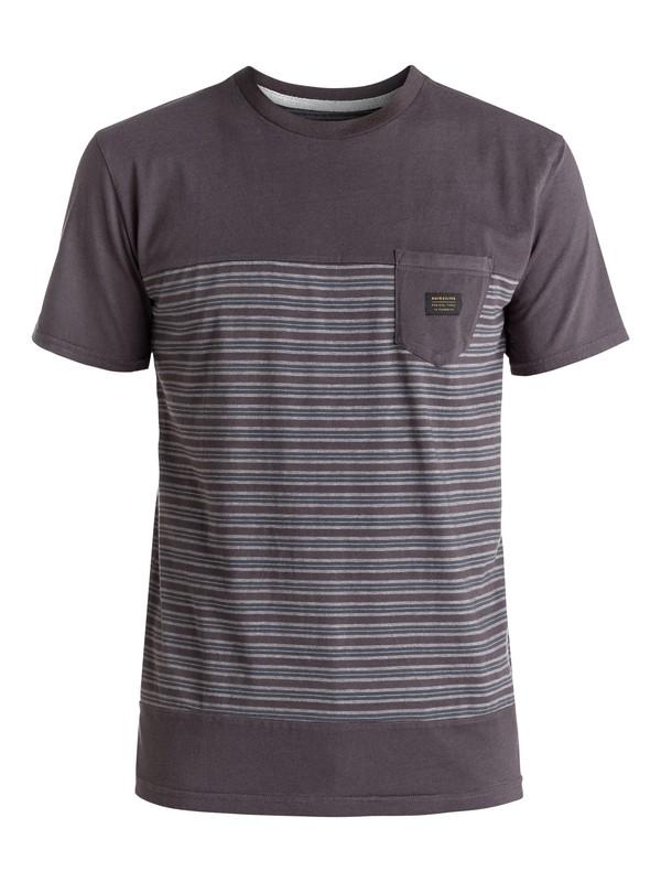 0 Full Tide - Tee-Shirt à poche Noir EQYKT03514 Quiksilver