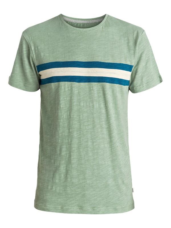 0 Portola Banks - Tee-Shirt Vert EQYKT03515 Quiksilver
