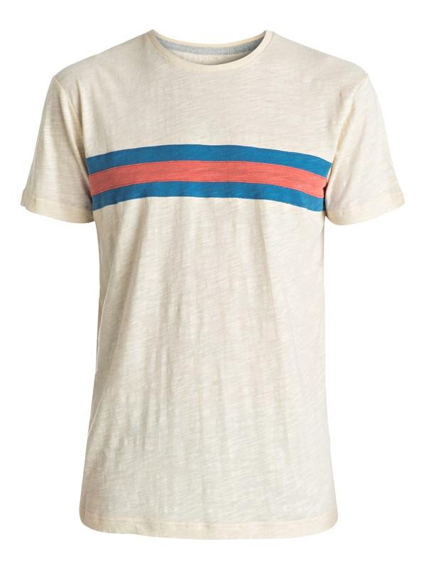 0 Portola Banks - Tee-Shirt Blanc EQYKT03515 Quiksilver