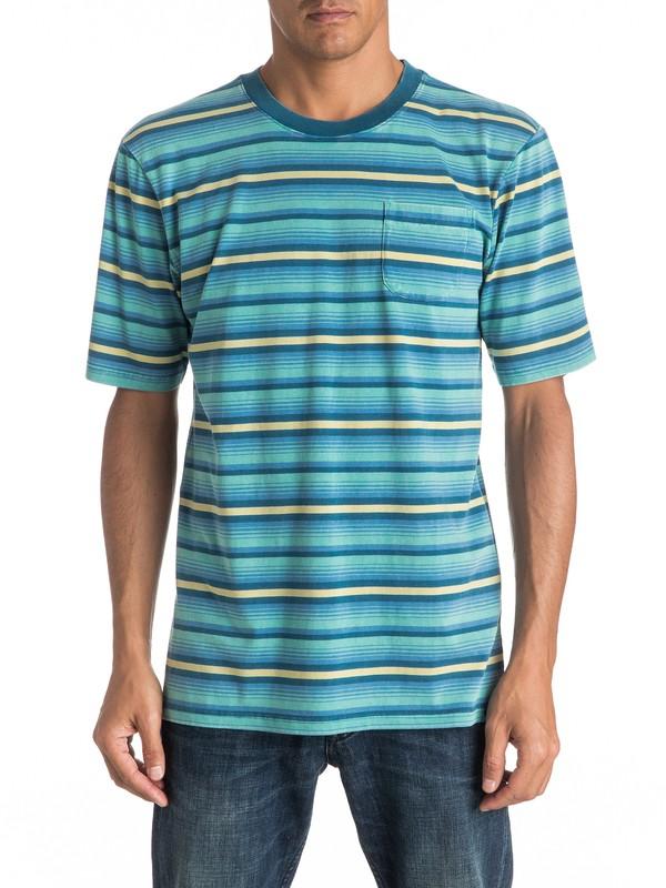 0 Mata Stripe - Tee-Shirt à poche  EQYKT03526 Quiksilver