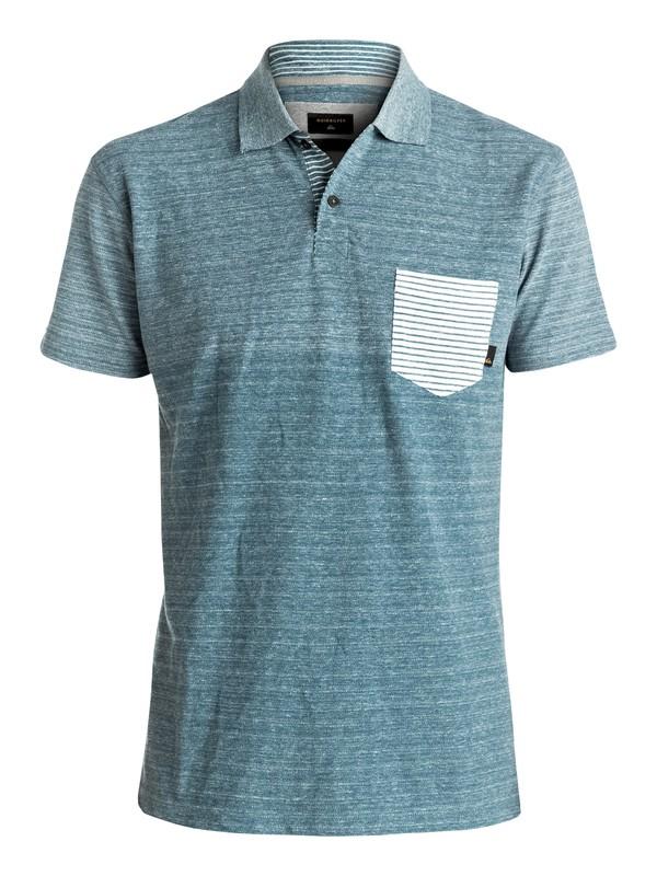 0 Porcifix - Camiseta Tipo Polo Azul EQYKT03536 Quiksilver