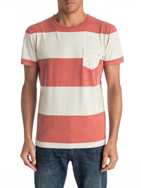 0 Maxed Out Hero - Tee-Shirt à poche Orange EQYKT03537 Quiksilver