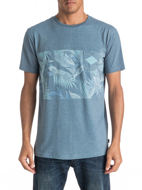 0 Faded Time Pocket Tee  EQYKT03545 Quiksilver