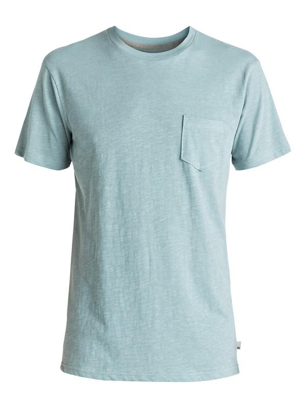 0 Slubstitution - Tee-Shirt à poche Bleu EQYKT03546 Quiksilver