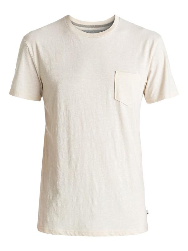 0 Slubstitution - Camiseta Con Bolsillo Blanco EQYKT03546 Quiksilver