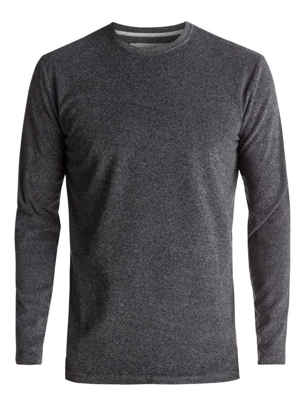 0 After Surf - T shirt à manches longues ultra-doux Noir EQYKT03599 Quiksilver