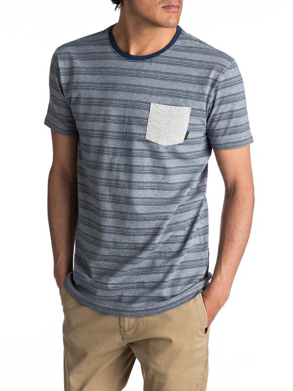 0 Lill Burn - T shirt avec poche  EQYKT03605 Quiksilver