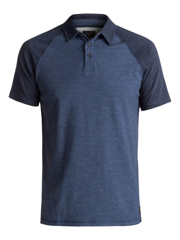 0 Tautira - Camiseta Tipo Polo Azul EQYKT03613 Quiksilver