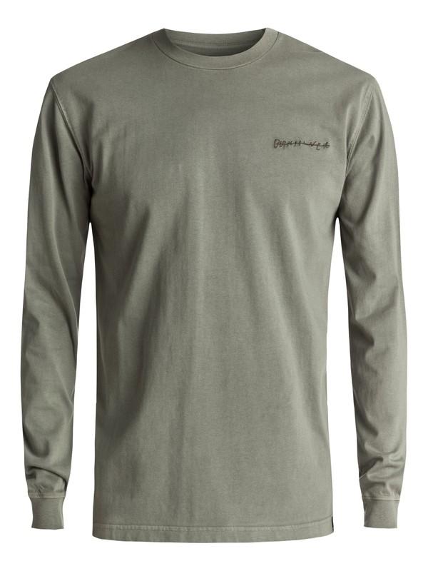0 Sunny Visions - T Shirt à manches longues Marron EQYKT03617 Quiksilver