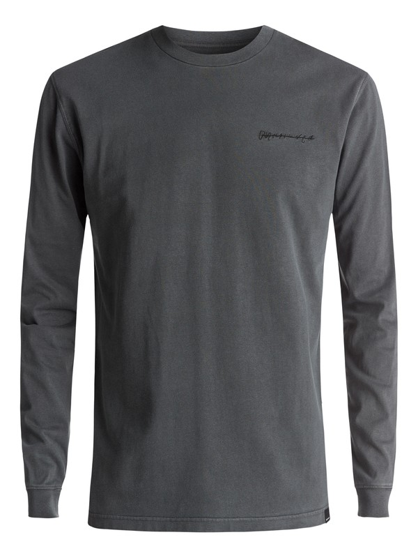 0 Sunny Visions Long Sleeve Tee Black EQYKT03617 Quiksilver