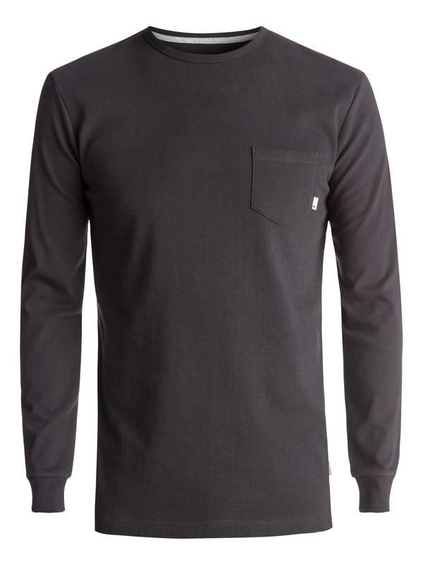 0 Snit Plain Long Sleeve Tee  EQYKT03631 Quiksilver
