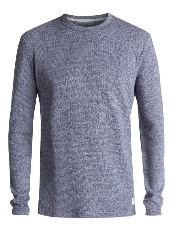 0 Caramoran Thermal Long Sleeve Tee Blue EQYKT03634 Quiksilver