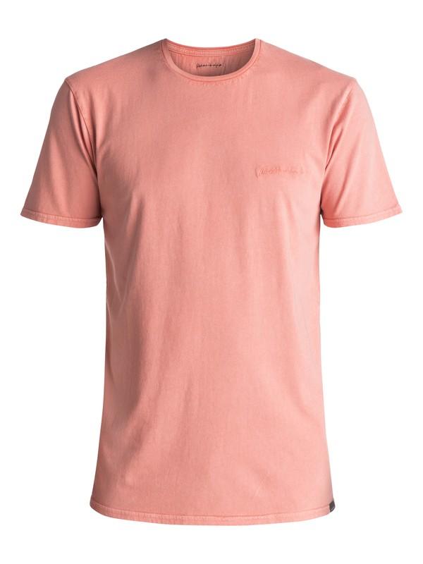0 Men's Acid Sun Tee Pink EQYKT03645 Quiksilver