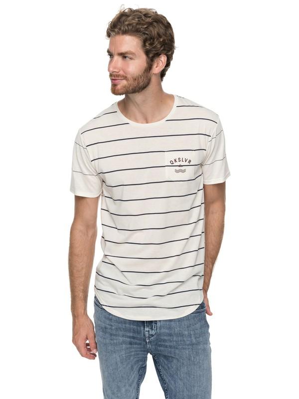0 Caper Rocks - T-Shirt Weiss EQYKT03682 Quiksilver
