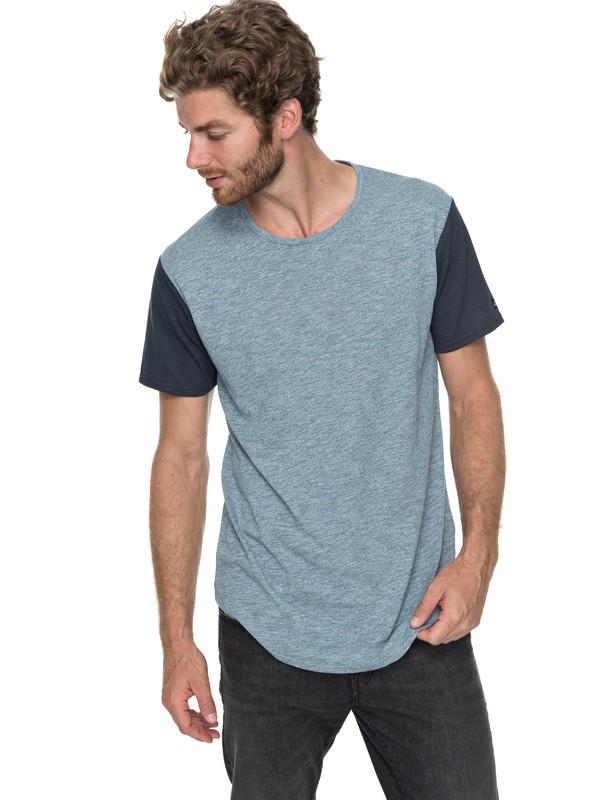 0 Skybreak - T-Shirt Blau EQYKT03685 Quiksilver