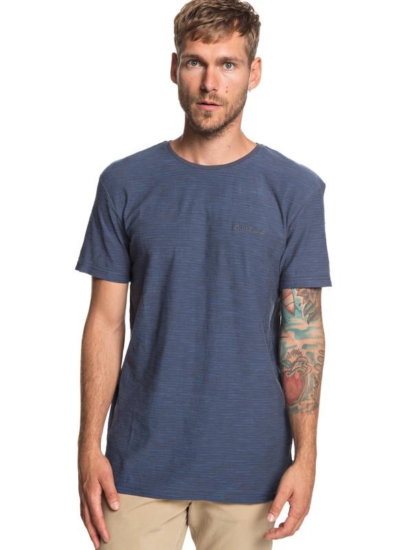 0 Ken Tin - T-Shirt Black EQYKT03687 Quiksilver