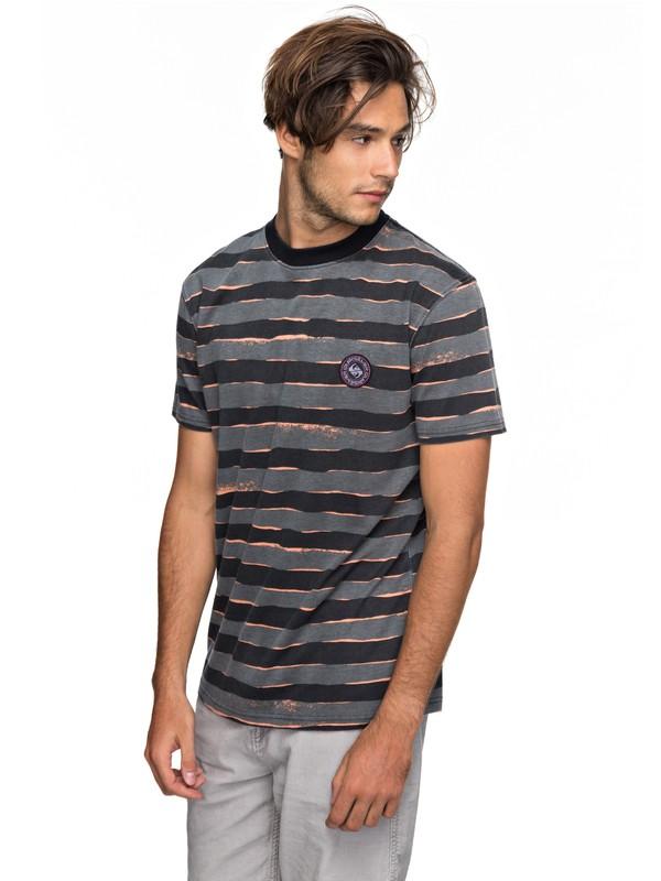 0 Allover Mad Wax - T-Shirt Schwarz EQYKT03690 Quiksilver