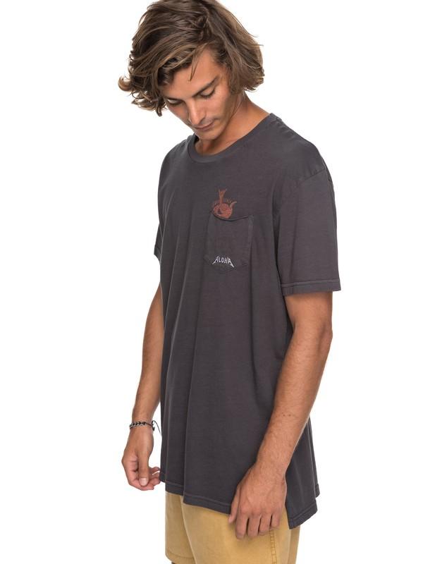 0 Skumel - T Shirt col rond  EQYKT03696 Quiksilver
