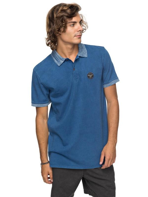 0 Polebreak - Polo Bleu EQYKT03713 Quiksilver