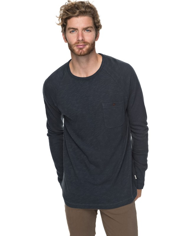 0 Low Tide Sweatshirt Blue EQYKT03727 Quiksilver