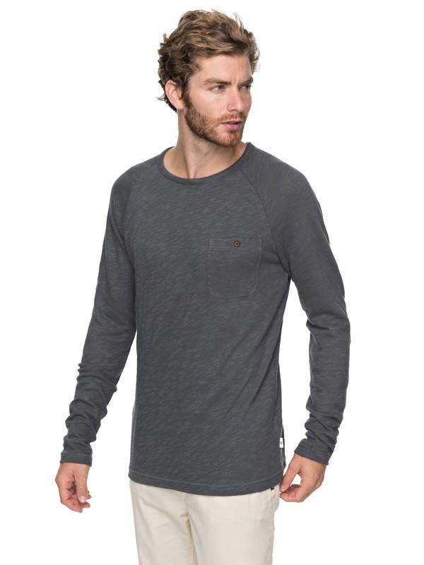 0 Low Tide Sweatshirt Black EQYKT03727 Quiksilver