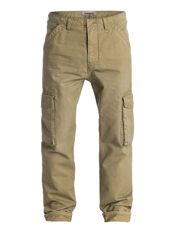 0 Everyday Cargo Straight Fit Pants Beige EQYNP03055 Quiksilver