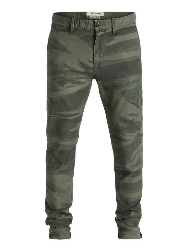 0 Krandy St Printed - Pantalon chino  EQYNP03057 Quiksilver