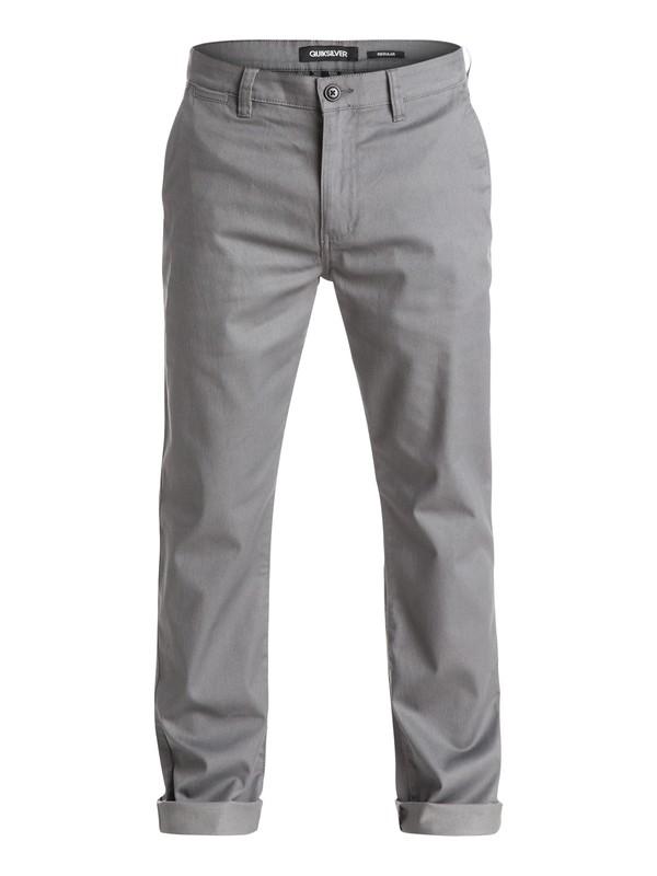 0 Everyday Union Pants Black EQYNP03071 Quiksilver