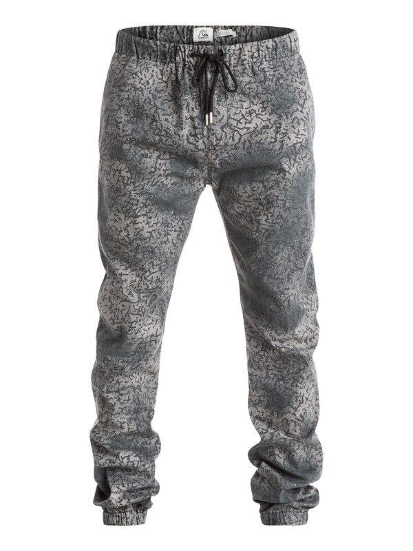 0 Beach Cracked - Pantalon coupe jogger  EQYNP03072 Quiksilver