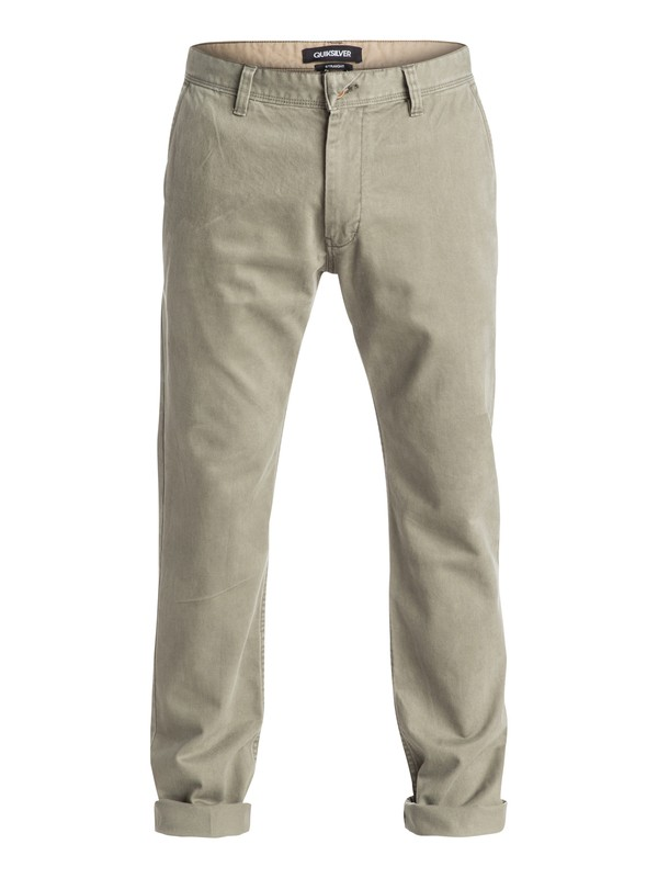 0 Everyday Chino Pants Green EQYNP03077 Quiksilver