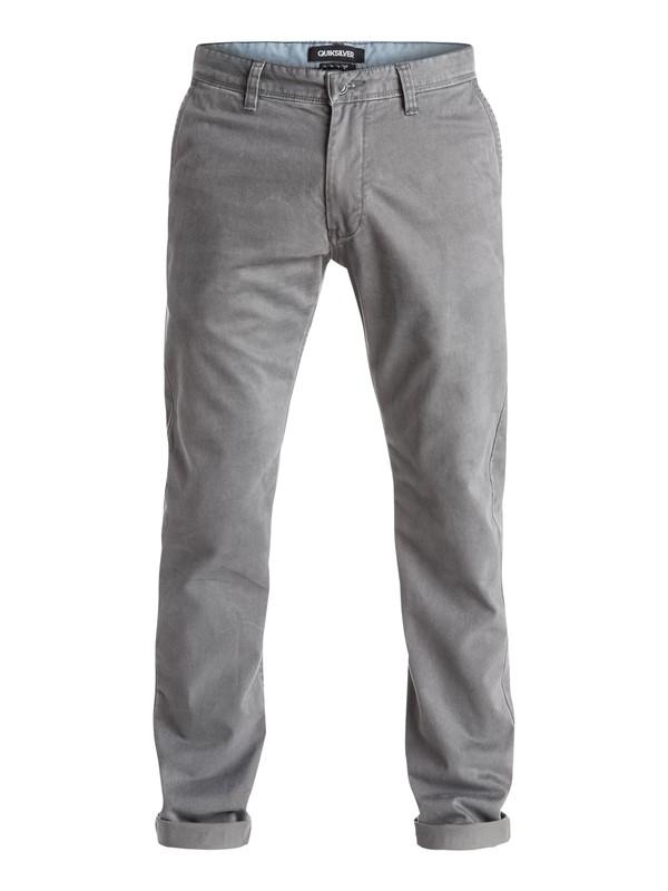 0 Everyday Chino Pants Black EQYNP03077 Quiksilver