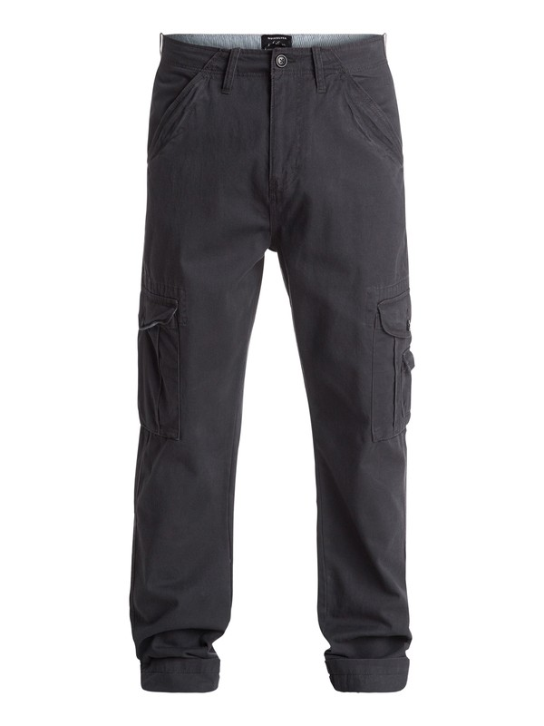 0 Crucial Battle Cargo Pants Black EQYNP03092 Quiksilver