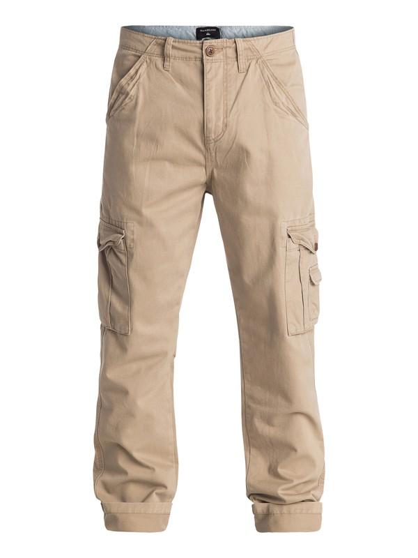 0 Crucial Battle - Pantalon cargo Beige EQYNP03092 Quiksilver