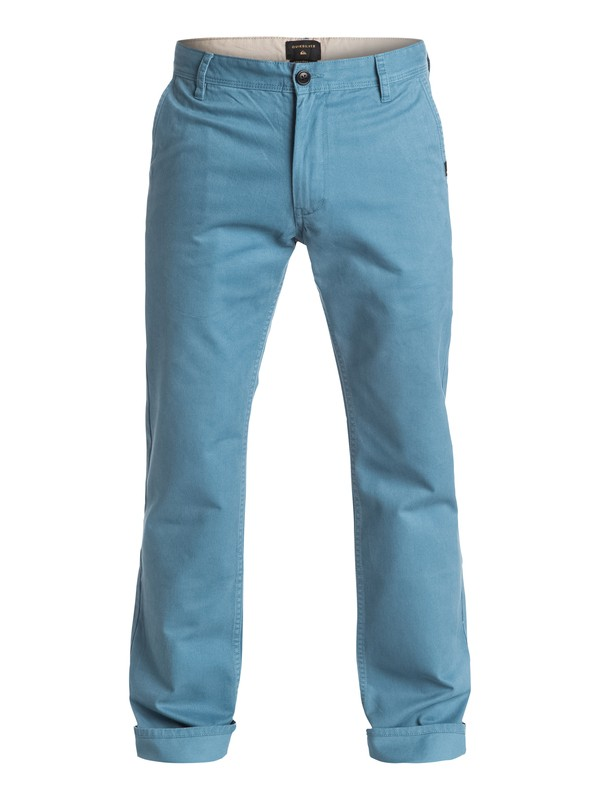 0 Everyday - Pantalon chino Bleu EQYNP03093 Quiksilver