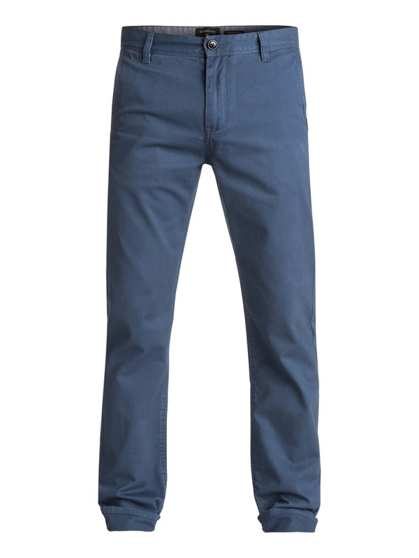 0 Everyday Chinos Blue EQYNP03093 Quiksilver