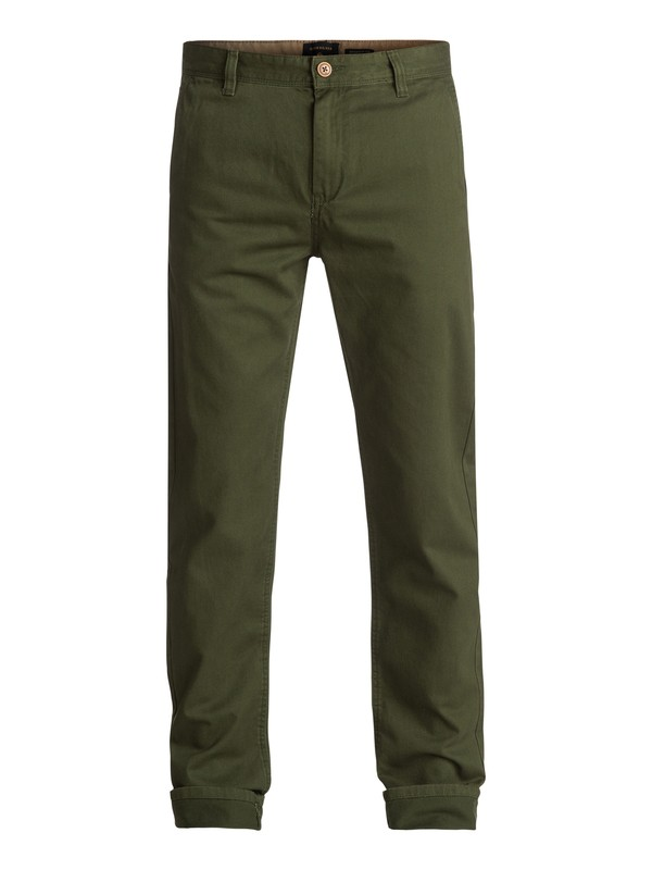 0 Everyday Chinos Green EQYNP03093 Quiksilver