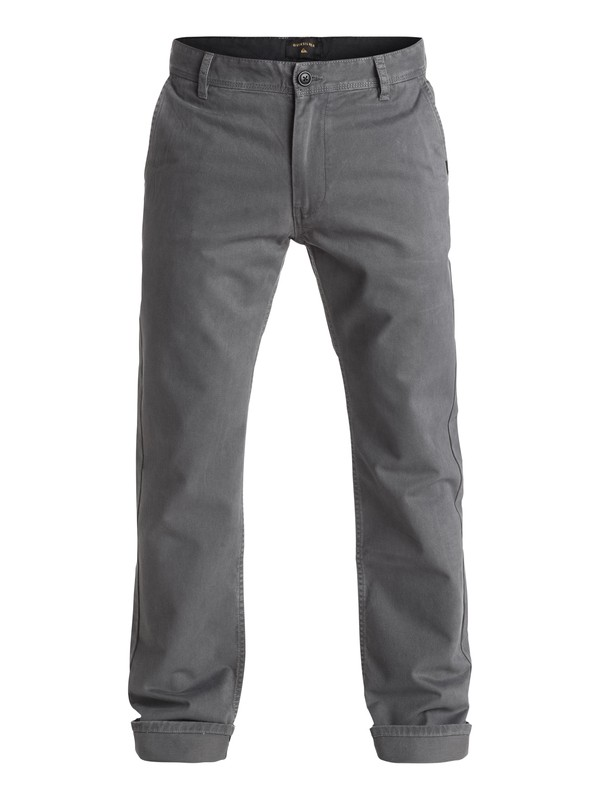 0 Everyday Chinos Black EQYNP03093 Quiksilver