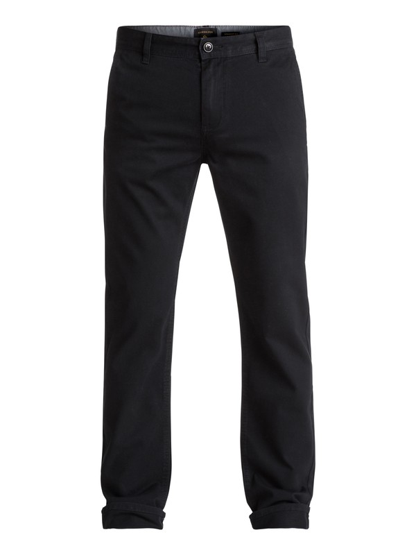 0 Everyday Chino Pants Black EQYNP03093 Quiksilver