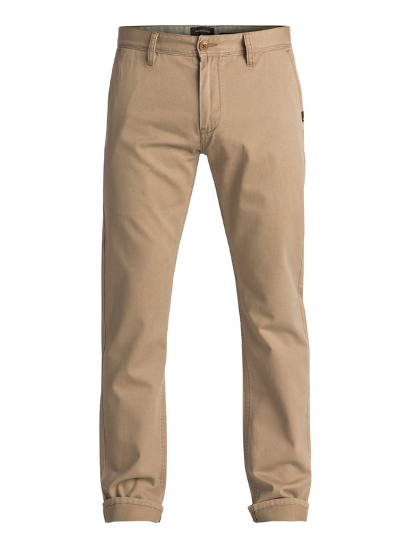 0 Everyday Chino Pants Beige EQYNP03093 Quiksilver