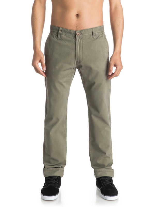 0 Everyday - Chinos Verde EQYNP03093 Quiksilver