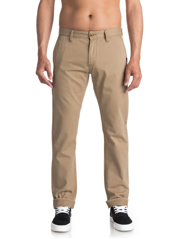 0 Everyday - Chinos Beige EQYNP03093 Quiksilver
