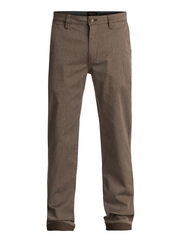 0 Everyday Union Chinos Brown EQYNP03094 Quiksilver