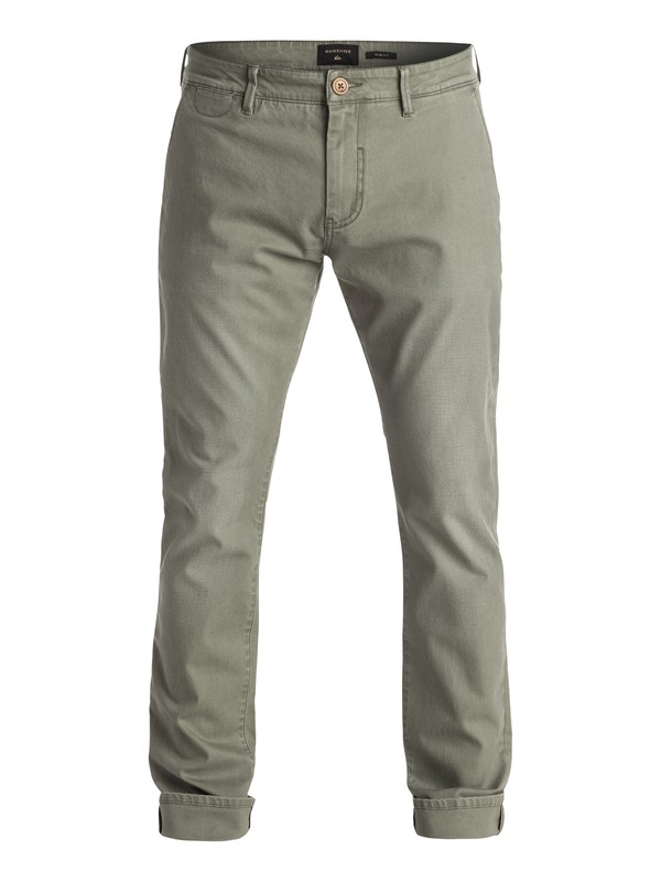 0 Krandy Chino Pants Green EQYNP03096 Quiksilver