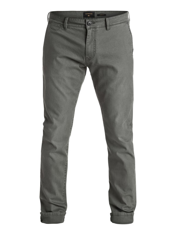 0 Krandy Chino Pants Black EQYNP03096 Quiksilver