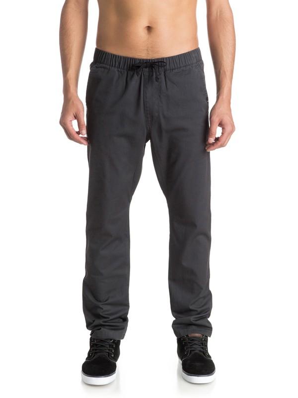 0 Fun Days - Pantalon Coupe Jogger En Sergé  EQYNP03101 Quiksilver