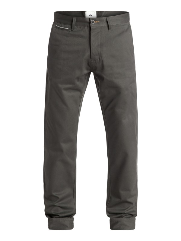 0 The Selvedge Chino Pants  EQYNP03103 Quiksilver