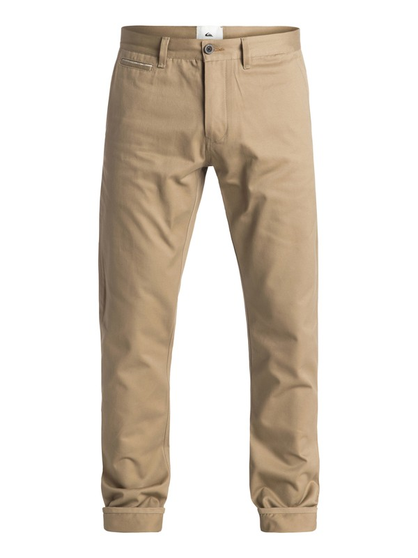 0 The Selvedge - Pantalon chino Beige EQYNP03103 Quiksilver