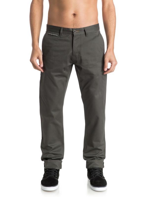 0 The Selvedge Chino Pants  EQYNP03103 Quiksilver